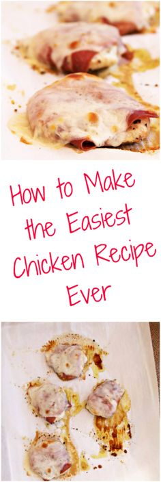 This super easy chicken recipe will help you get dinner on your table in less than 30 minutes!