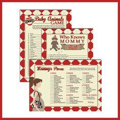 INSTANT DOWNLOAD Baby Shower Games for Sock Monkey baby shower on Etsy, $12.00 Jordan Baby Shower, Baby Shower Games, Baby Boy Shower, Baby Showers, Sock Monkey Baby, Baby Animal Games, Carnival Games, Baby Makes, Baby Socks