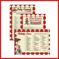 PRINTABLE Baby Shower Games for Sock Monkey baby by LullabyLoo, $12.00