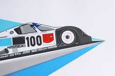 Recent Prints - 8380 Laboratories by Toto Print Company, via Behance. #70s style car illustrations