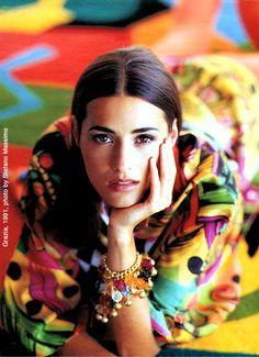 Yasmin Parvaneh   THE IRANIAN: Model Yasmin Parvaneh Le Bon