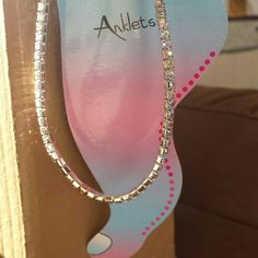 FREE SHIPPING* Bling! Bling! stretch anklet This ankle bracelet has silver tone rhinestones all around, sparkle everywhere you go!  Beautiful blings, sparkles under thr sun. Stretch to fit.  New in package.  All sales are final.  FREE SHIPPING* Make an offer of $5 less than the listed price using the *Offer* button! Bundle and Save even more.  Happy Poshmarking! Jewelry