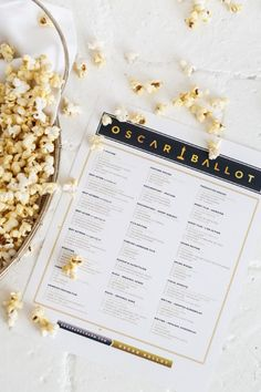 5 Things To Try For Oscar Weekend | theglitterguide.com