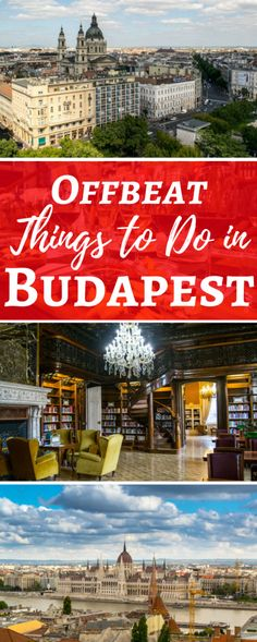 Trying to decide what to do in Budapest? Check out these exciting and offbeat things to do in Budapest--one of our favorite cities in the world!
