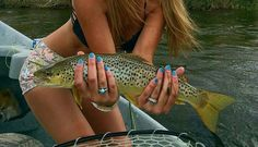 Beautiful... trout.