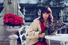 Penélope Cruz for Loewe Fall/Winter 2013-2014 Campaign  #bags #handbags
