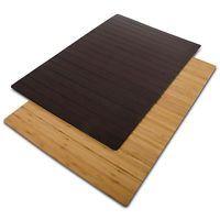 Frisuren Chrissi Badematte aus Bambus | EMMA | 60x90cm | Badvorleger Badematten Bambusmatte Holz