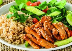 Recipes Fast Enjoy the fresh flavours of lime and soy in this delicious Sticky Sesame Lime and Soy Chicken, perfect for the whole family to enjoy. Healthy Mummy Recipes, Healthy Chicken Recipes, Healthy Cooking, Easy Dinner Recipes, Asian Recipes, Cooking Recipes, Healthy Meals, Frugal Recipes, Savoury Recipes