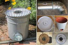 How To Make A Rocket Stove Made From a Five Gallon Metal Bucket