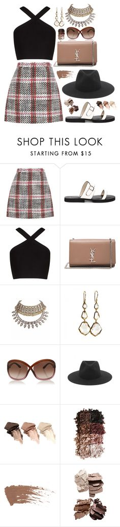 """""""stay at the fair, i'll be home soon"""" by esperanz-e ❤ liked on Polyvore featuring Carven, BCBGMAXAZRIA, Yves Saint Laurent, Ippolita, Tom Ford, rag & bone, Urban Decay and LORAC"""