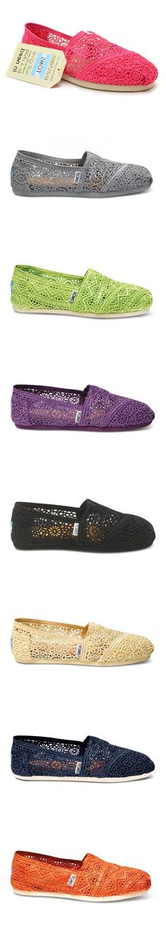 Dream closet| Toms Outlet! $26.99 OMG!! Holy cow, I'm gonna love this site #Toms shoes #shoes #fashion