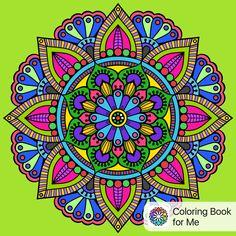 Coloreado con: Libro de colorear para mí