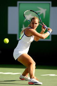 Dominika Cibulkova: BNP Paribas Open 2016 in Indian Wells -04