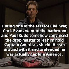 I don't even care if this is legit or not I just really love Paul Rudd<<