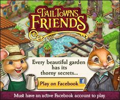 New (addicting) Facebook game – Tail Towns Friends | She Scribes