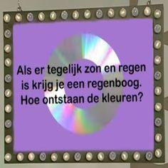 Proefje: Hoe ontstaan de kleuren van een regenboog? - Superleuk.nl Science For Kids, Science And Nature, Activities For Kids, 21st Century Skills, Ark, Coloring For Kids, Professor, School, Projects