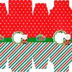 Caixa Sabonete Natal Papai Noel