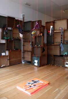 Pop-Up Store designed by Tracey Neuls to show her shoe designs has opened in London.
