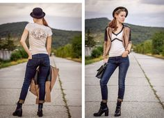 New #colllab #post on #blog: http://byfoxygreen.blogspot.sk/2015/09/anchor-of-my-heart.html #fashion #styling #ootd #look #photoshoot #photos #tee #MY77 #secondhand #H&M #Humanic #blogger #fblogger #foxygreen #byfoxygreen