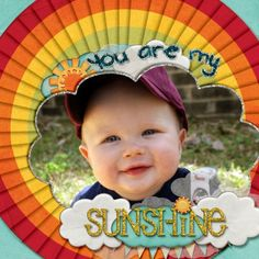You are My Sunshine layout by Shellby Joslin   Pixel Scrapper digital scrapbooking Made with Digi Preserves Cloud 9 kit  Made with Busy Crafting Mommy Designs Sock Hop  http://www.scraps-n-pieces.com/store/index.php?main_page=product_info=66_121_id=3362#.Uh9H3lOd4l0
