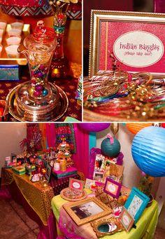 Vibrant & Exotic Bollywood 40th Birthday Party - http://blog.hwtm.com