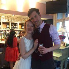 Happy ever after to the beautiful happy couple.  #ukulele #love #london #celebrategoodtimes