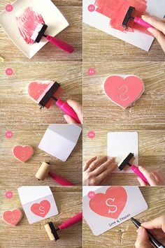 hand-carving your own stamp : im intimidated by this but yet i still want to try it.