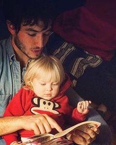 Ezra + someone's kid