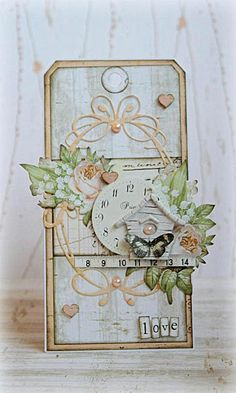 Scrapstuff and more: Love tag for Scraps of Elegance