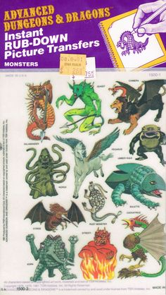 Advanced Dungeons And Dragons Picture Transfers, 1981 Dungeons And Dragons Art, Dungeons And Dragons, Dnd Art, Pen And Paper Games, Dungeon, Advanced Dungeons And Dragons, Fantasy Artwork, Dragon Pictures, Dragon