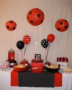 lots of ladybug party pics!