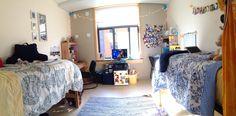 Hillside hall dorm room URI