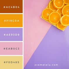 20 Summer Color Palettes and Hex Codes - color combination, color inspiration, color palette, color Summer Color Palettes, Orange Color Palettes, Pantone Colour Palettes, Summer Colors, Pantone Color, Pantone Rgb, Hex Color Palette, Pastel Colour Palette, Color Combos
