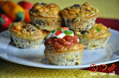 Peace, Love, and Low Carb: Taco Egg Muffins - Low Carb, Gluten Free