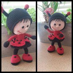 Project by Cindy Rogers #littleowlshut #crochetpattern #amigurumi #amigurumidolls #doll #stelmakhova_galina #crochetpattern #crochetlove #amigurumi #littleowlshut #Patterns #Crochet #etsy #handmade #crochettoys #crocheting #handcrafted #handcraft #knittersofinstagram #crochetaddict #crochetdoll #Stelmakhova #crochetingisfun #craftastherapy #crocheteveryday #crochetlover #amigurumilove #ladybird #ilovecrochet #ladybug #insect