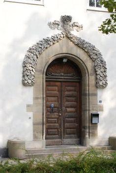 Not the ordinary doorway