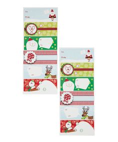 Look what I found on #zulily! Whimsical Label Sheet Set #zulilyfinds
