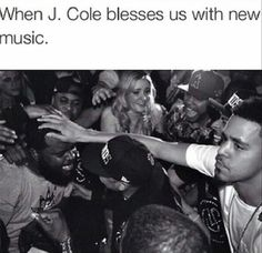 J.Cole interacting wit fans
