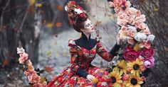 Inspired by Russian fairy tales, photographer Margarita Kareva takes the written word and translates it into beautiful fantastical images.