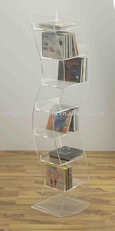 floor standing cd holder