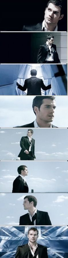 Henry Cavill in the Dunhill ads <3