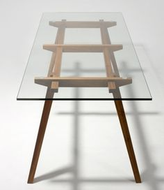 """Glass Dining Table 