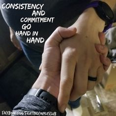 Consistency and Commitment go Hand in Hand  Then Elijah said to Elisha Stay here for the Lord has told me to go to the Jordan River. But again Elisha replied As surely as the Lord lives and you yourself live I will never leave you. So they went on together. 2 Kings 2:6 NLT  Consistency and Commitment these two words go hand in hand. Elisha made a Commitment to Elisha. He kept that commitment through his consistent words and actions.  Am I making consistent actions to show my wife my commitment. Are you showing your spouse? It is little things that make a difference. Maybe it is a kiss on the cheek or a whisper in the ear I love you or maybe holding there hand a little more (I mean I did say consistency and commitment go hand in hand)  So today start a habit of consistently committing to a awesome marriage and awesome life.  #consistencyandcommitmentgohandinhand #consistency #commitment #consistencyandcommitment #iwantanawesomemarriage #iwantanawesomelife #keepfighting #fightingcouplesclub #fightforit #fightforyou #fightformarriage #fightforfamily #fightforothers #fightforher #fightforyourwife #fightforhim #fightforyourhusband #youversion #bibleapp
