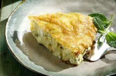 Τυρόπιτα με γιαούρτι χωρίς φύλλο! Spanakopita, Quiche, Breakfast, Ethnic Recipes, Food, Morning Coffee, Essen, Quiches, Meals