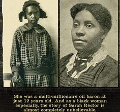 Meet Sarah Rector, the Who Became The Richest Black Girl in America in 1913 - Black Enterprise Uncover the fascinating and mysterious story of Sarah Rector, who was once deemed the richest black girl in America at the age of Black History Books, Black History Facts, Strange History, Black History Inventors, Black History People, Famous Black People, Famous Women, African American Leaders, African Americans