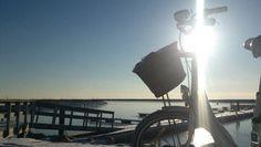 The wintersun the Divaway in Hundige Marina  Tags: #Batavus, #Diva, #Bicycle, #Bike, #small #adventure