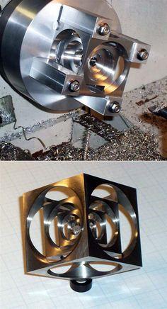 Machine Shop Skillz: The Turner's Cube