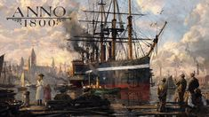 Anno – Lead the Industrial Revolution! Welcome to the dawn of the Industrial Age. Clash Games, Game Keys, Building Games, Industrial Revolution, New Trailers, Tabletop Games, City Buildings, Games To Play, Pc Games