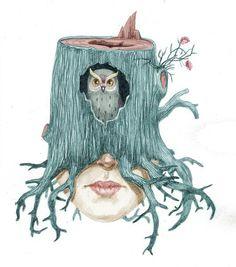 Illusration by Olga Kalinina