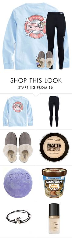 """left school early today"" by lindsaygreys ❤ liked on Polyvore featuring NIKE, UGG, Maybelline, Joie and Too Faced Cosmetics"